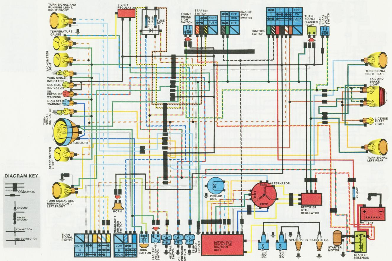 schaltplan_1978_cx500_am xs650 wiring harness xs650 1982 rectifier wiring wiring diagram  at honlapkeszites.co